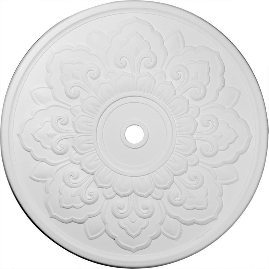Ekena Millwork Lorry 50.125-in x 50.125-in Polyurethane Ceiling Medallion