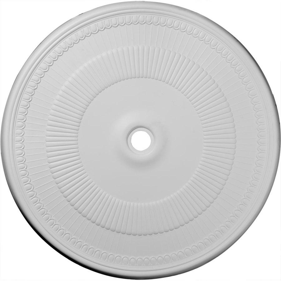 Ekena Millwork Nevio 51.125-in x 51.125-in Polyurethane Ceiling Medallion