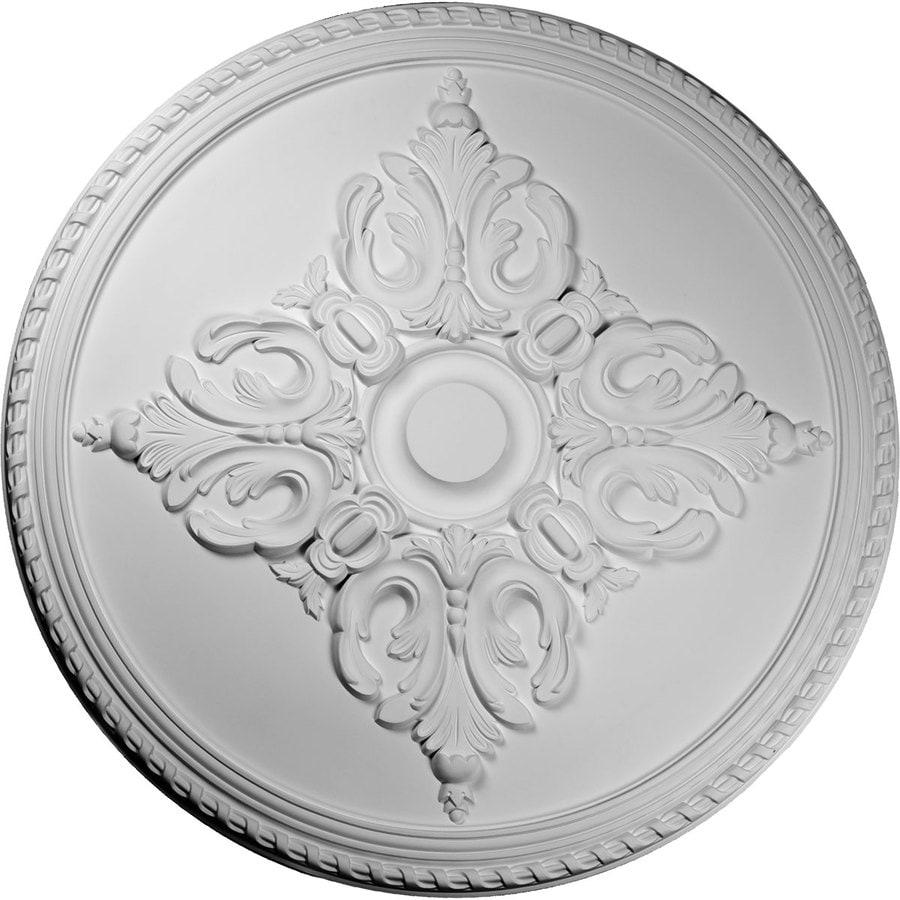 Ekena Millwork 54.25-in x 54.25-in Urethane Ceiling Medallion