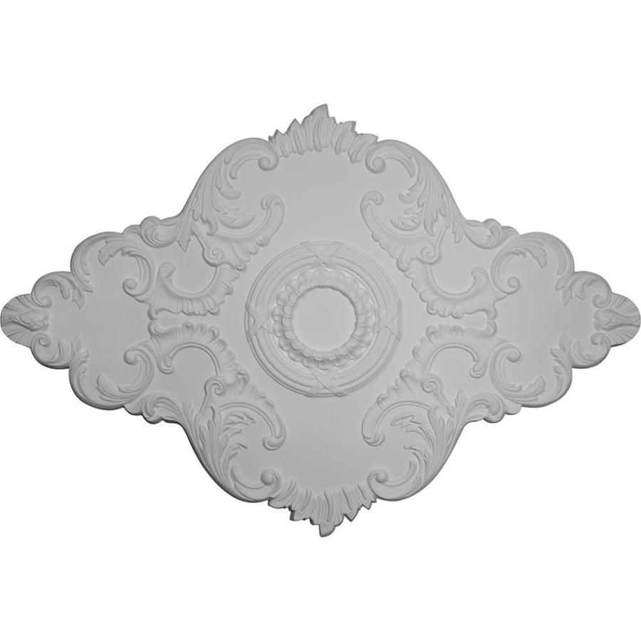 Ekena Millwork 48.625-in x 67.125-in Urethane Ceiling Medallion