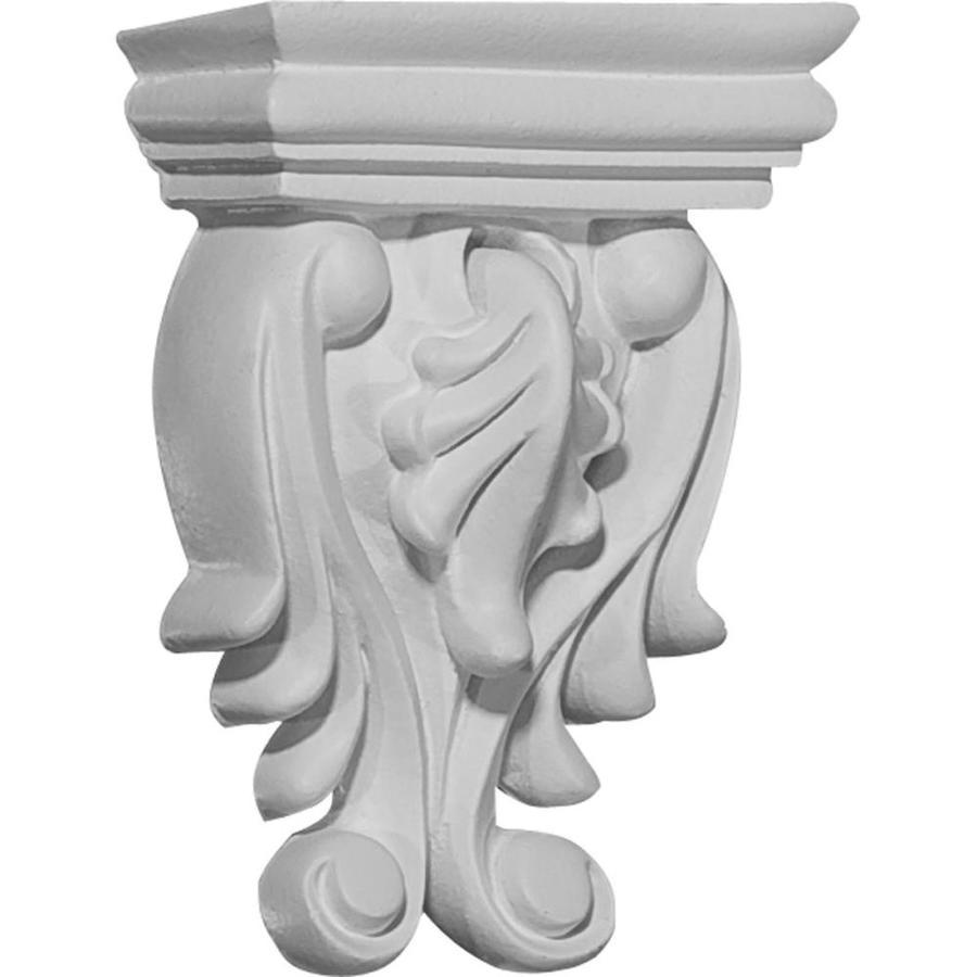 Ekena Millwork 2.625-in x 3.625-in Odessa Primed Polyurethane Corbel