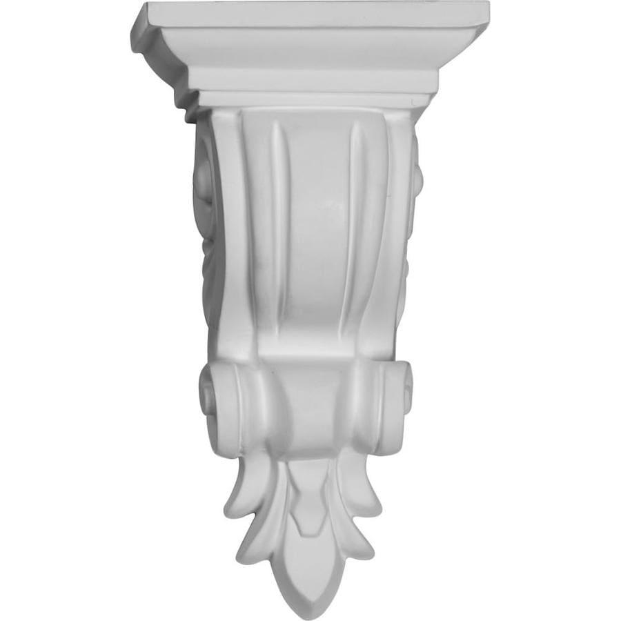 Ekena Millwork 4.375-in x 7.875-in Reece Polyurethane Corbel