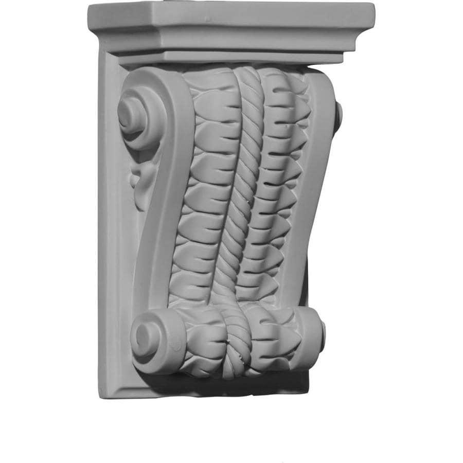 Ekena Millwork 5-in x 7.875-in Primed Polyurethane Corbel