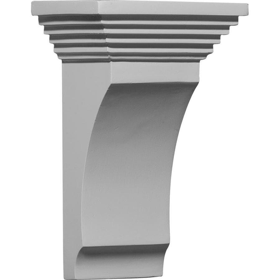 Ekena Millwork 5.5-in x 9-in Adonis Polyurethane Corbel