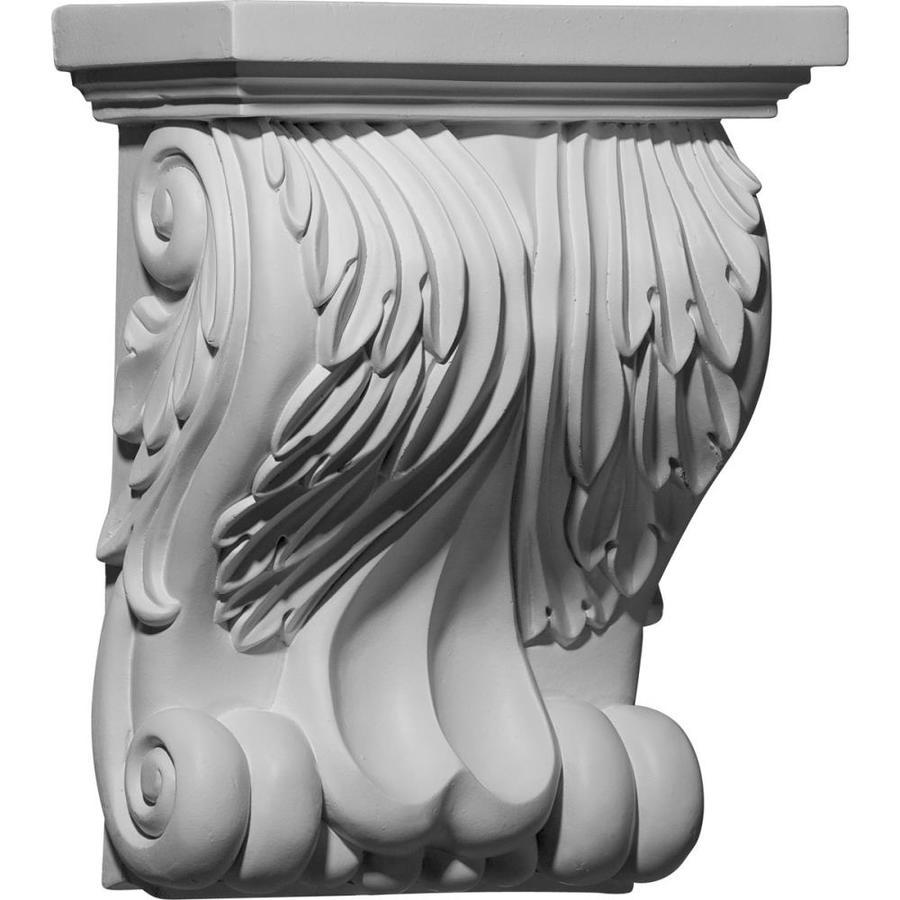 Ekena Millwork 8.75-in x 11-in Primed Polyurethane Corbel