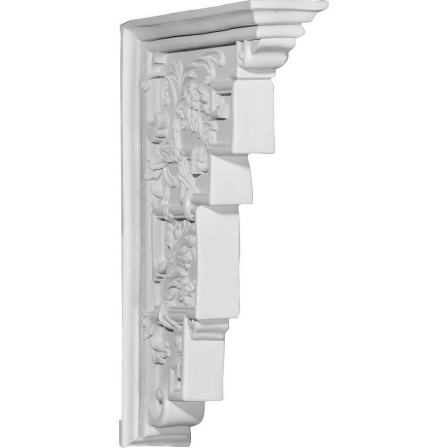 Ekena Millwork 18.25-in x 12.125-in Genevieve Polyurethane Corbel