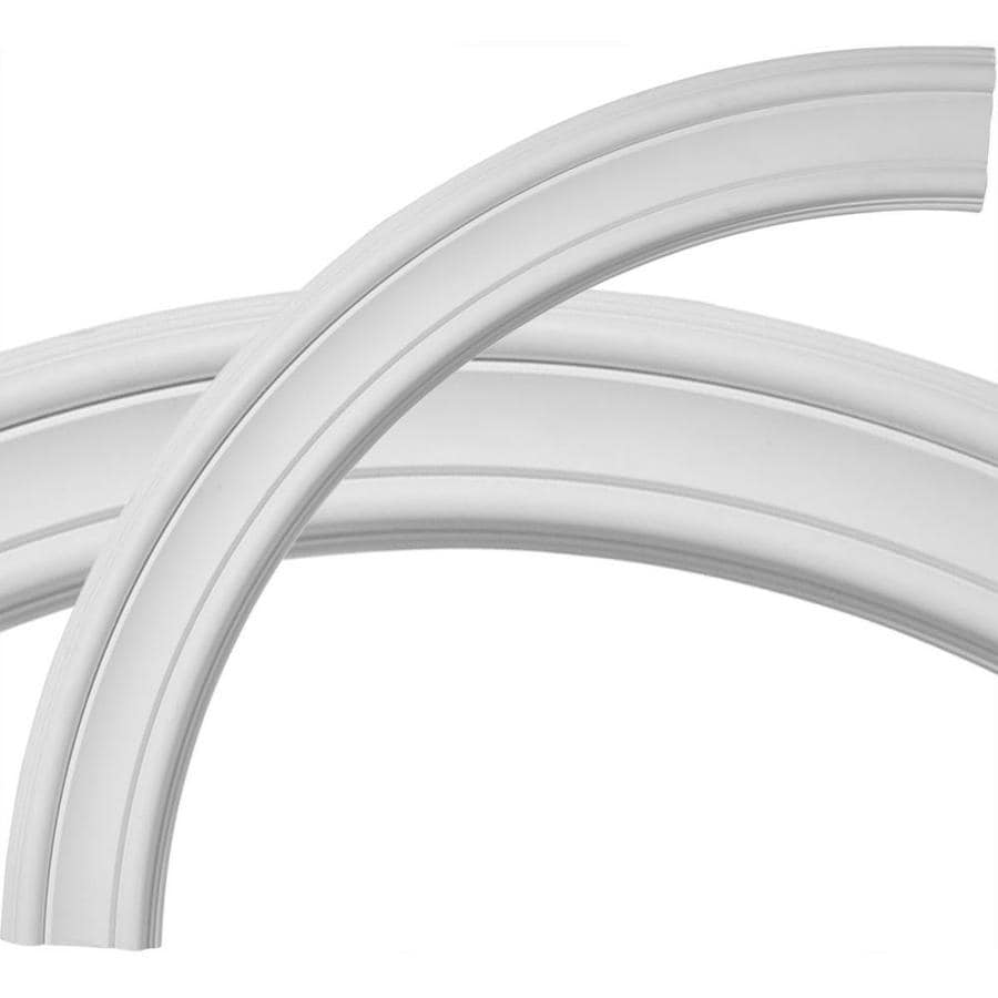 Ekena Millwork Pierced 3.125-in x 36.5-in Quarter Polyurethane Ceiling Ring