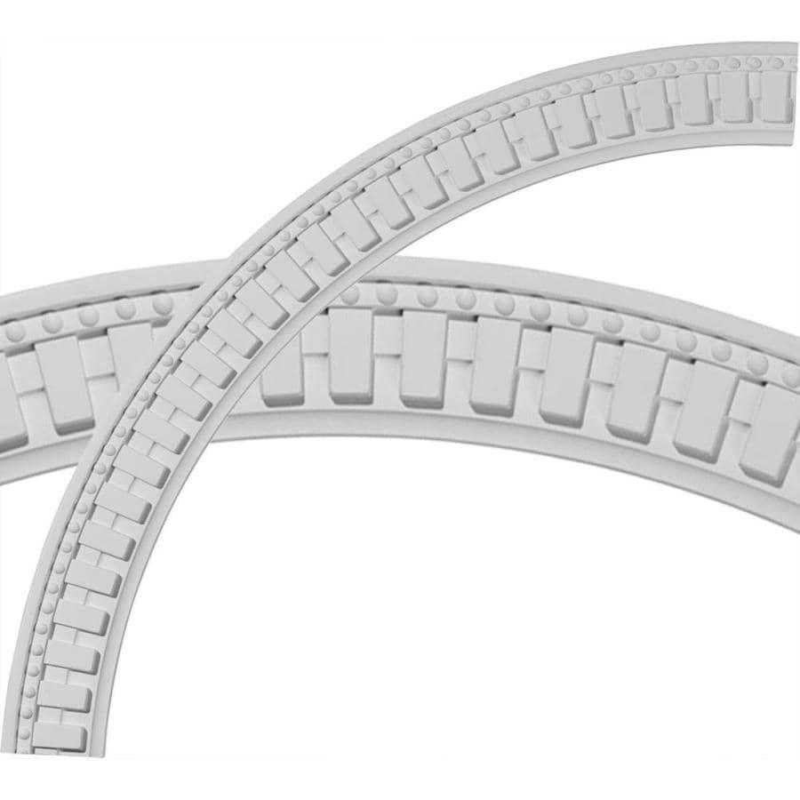 Ekena Millwork Dentil and Bead 3.25-in x 47-in Quarter Polyurethane Ceiling Ring