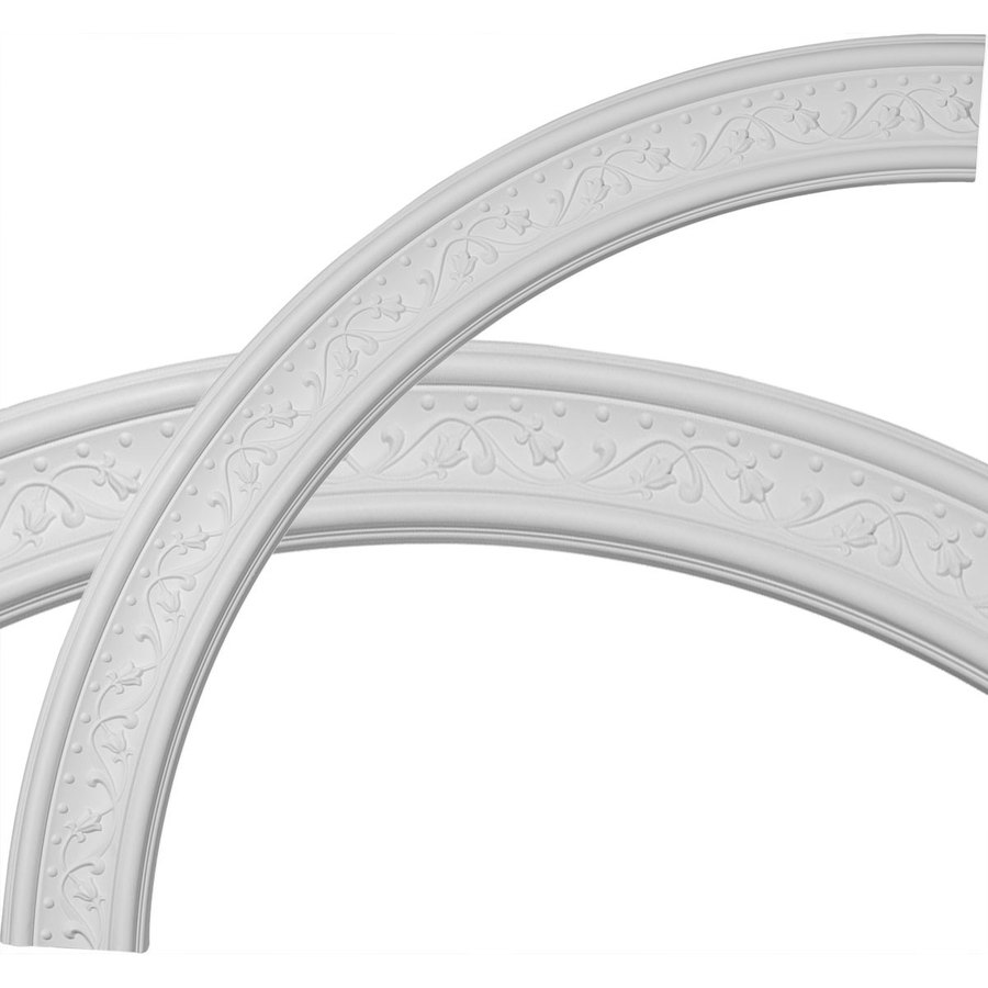 Ekena Millwork Marcella 4-in x 51-in Quarter Polyurethane Ceiling Ring