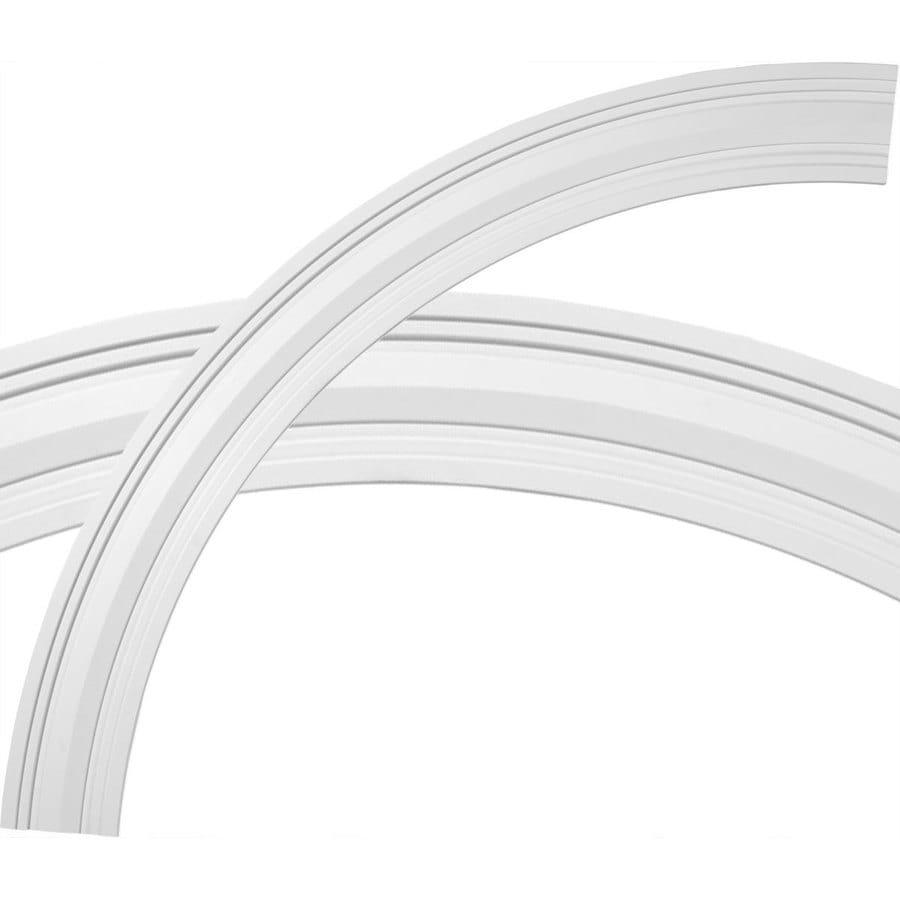 Ekena Millwork Felix 4-in x 55.375-in Quarter Polyurethane Ceiling Ring