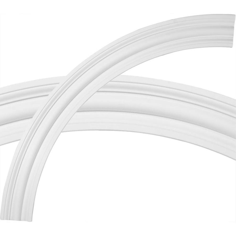 Ekena Millwork Bradford 5-in x 68-in Quarter Polyurethane Ceiling Ring