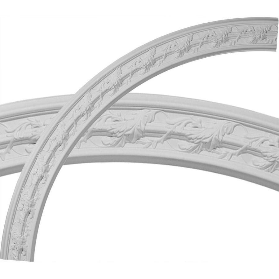 Ekena Millwork Southampton Acanthus Leaf 4.325-in x 66.75-in Quarter Polyurethane Ceiling Ring