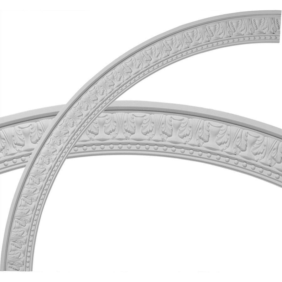 Ekena Millwork Palmetto 4.25-in x 71.25-in Quarter Polyurethane Ceiling Ring