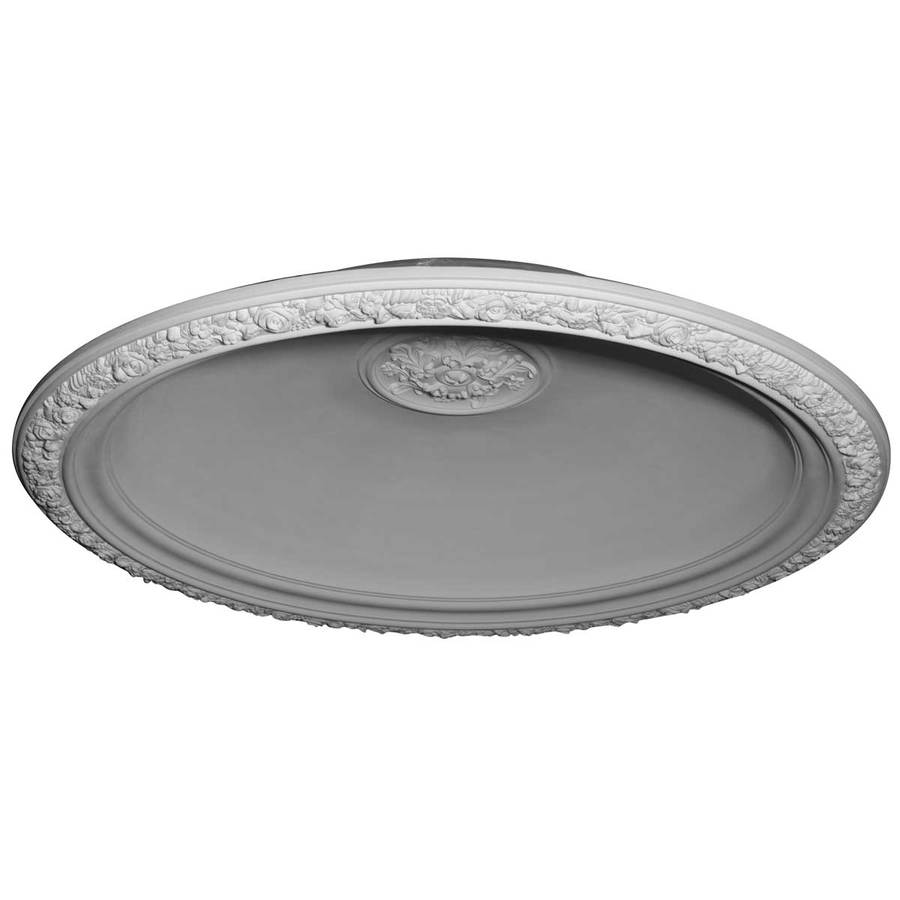 Ekena Millwork Floral 59-in x 59-in Polyurethane Ceiling Dome