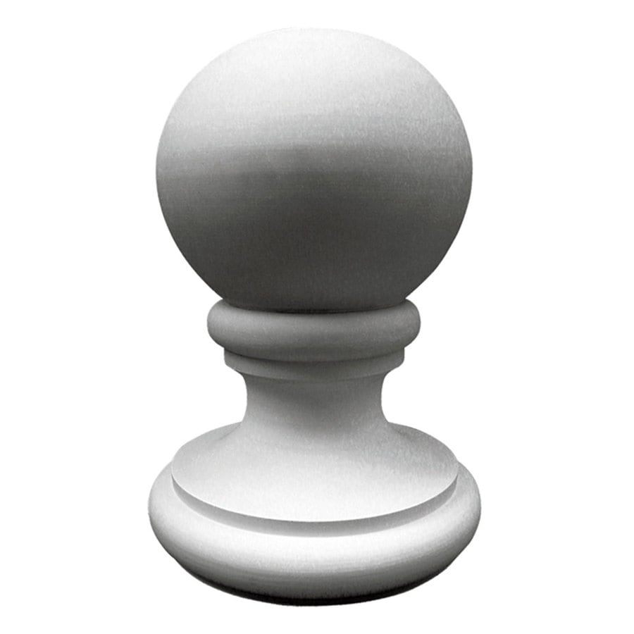 Ekena Millwork 14.875-in x 21.375-in Traditional Primed Polyurethane Finial