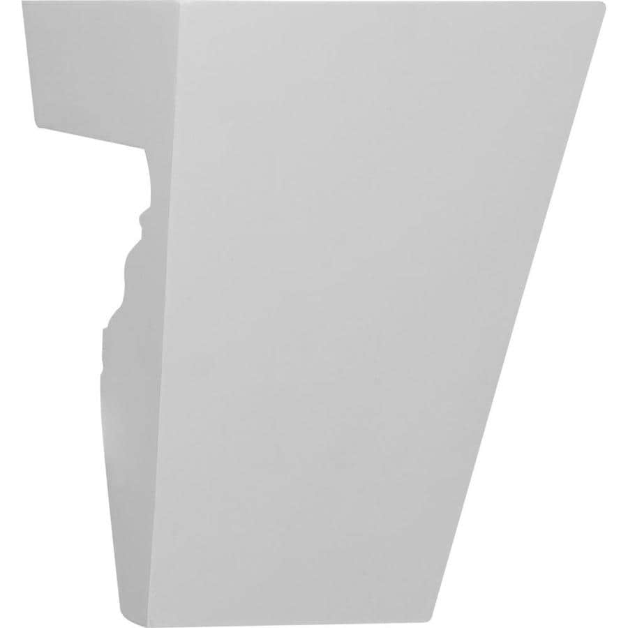 Ekena Millwork Traditional 5.75-in x 0.56-ft Urethane Keystone Entry Door Casing Accent