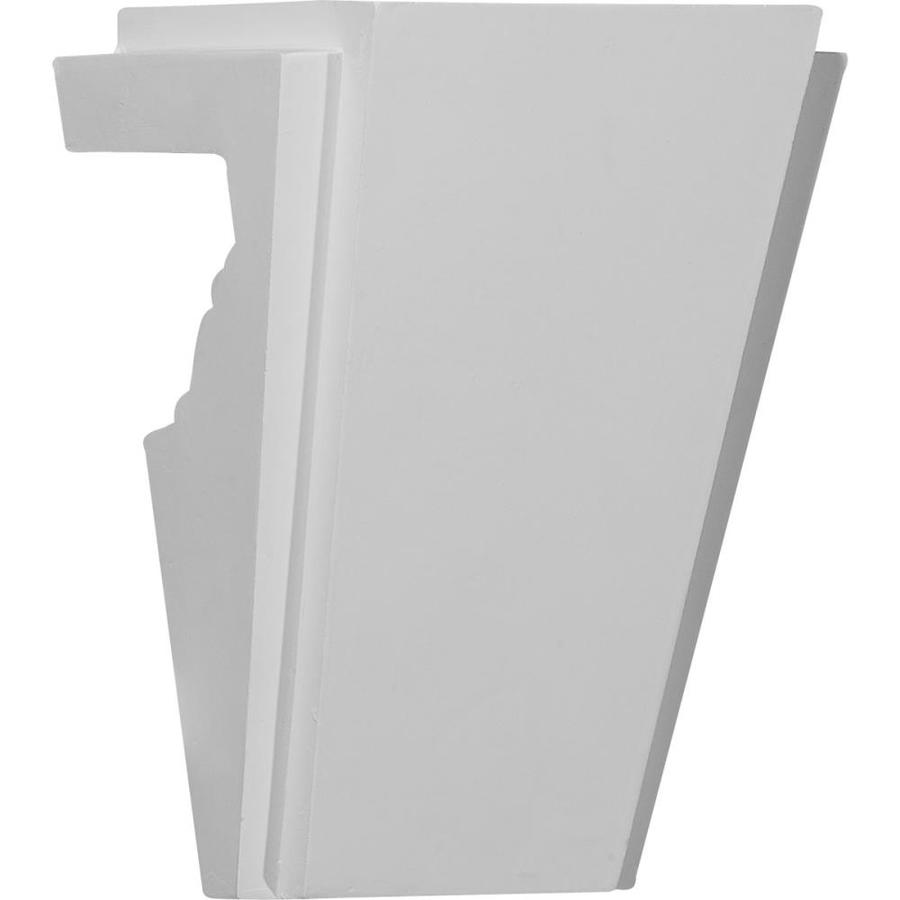 Ekena Millwork Stockport 5.75-in x 0.67-in Primed Urethane Keystone Entry Door Casing Accent