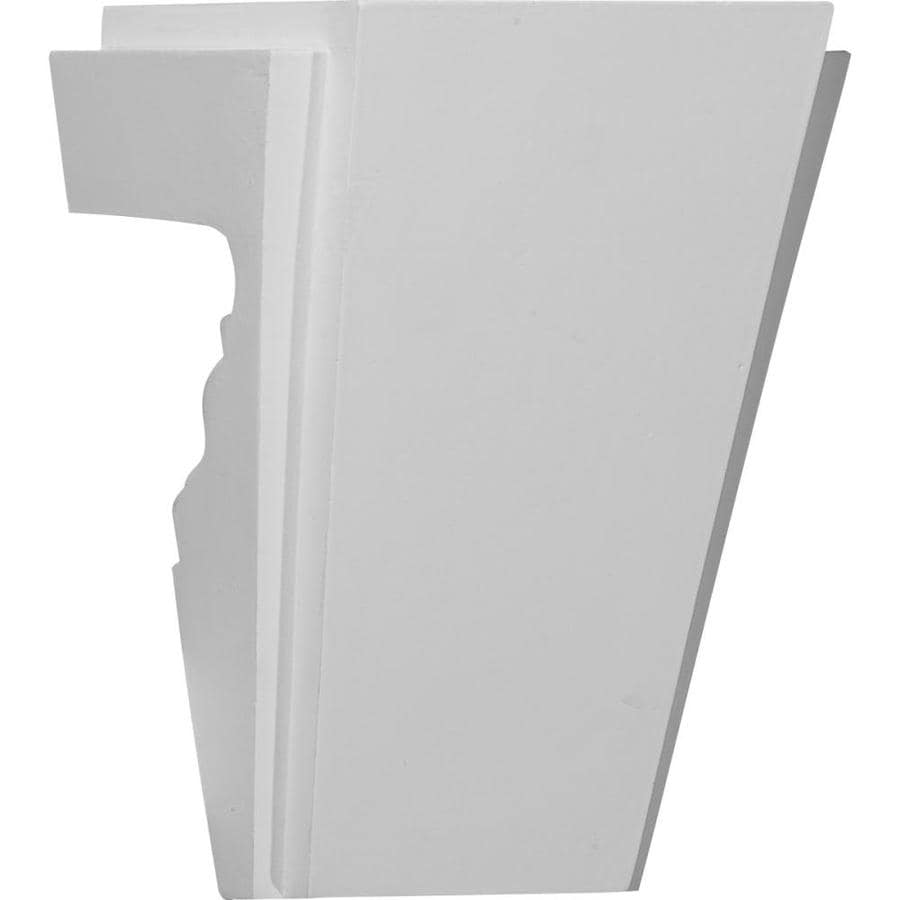 Shop ekena millwork nexus 6 in x primed urethane for Exterior keystone molding