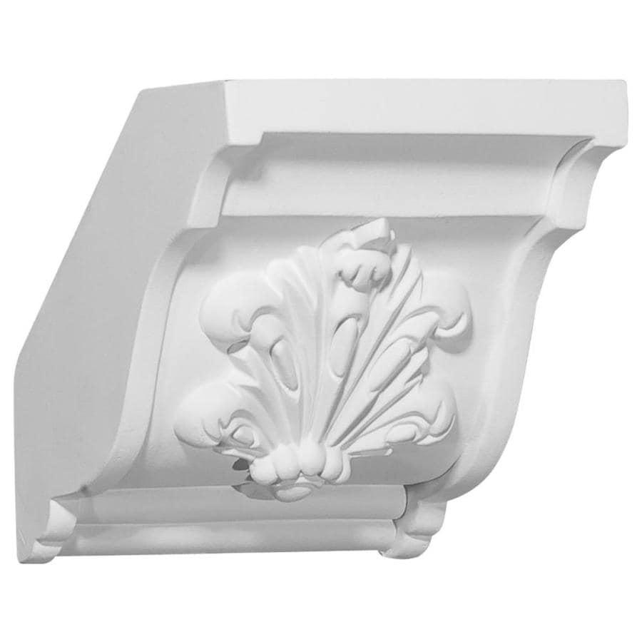 Ekena Millwork 4.625-in x 4.625-in Polyurethane Mid Crown Moulding Block