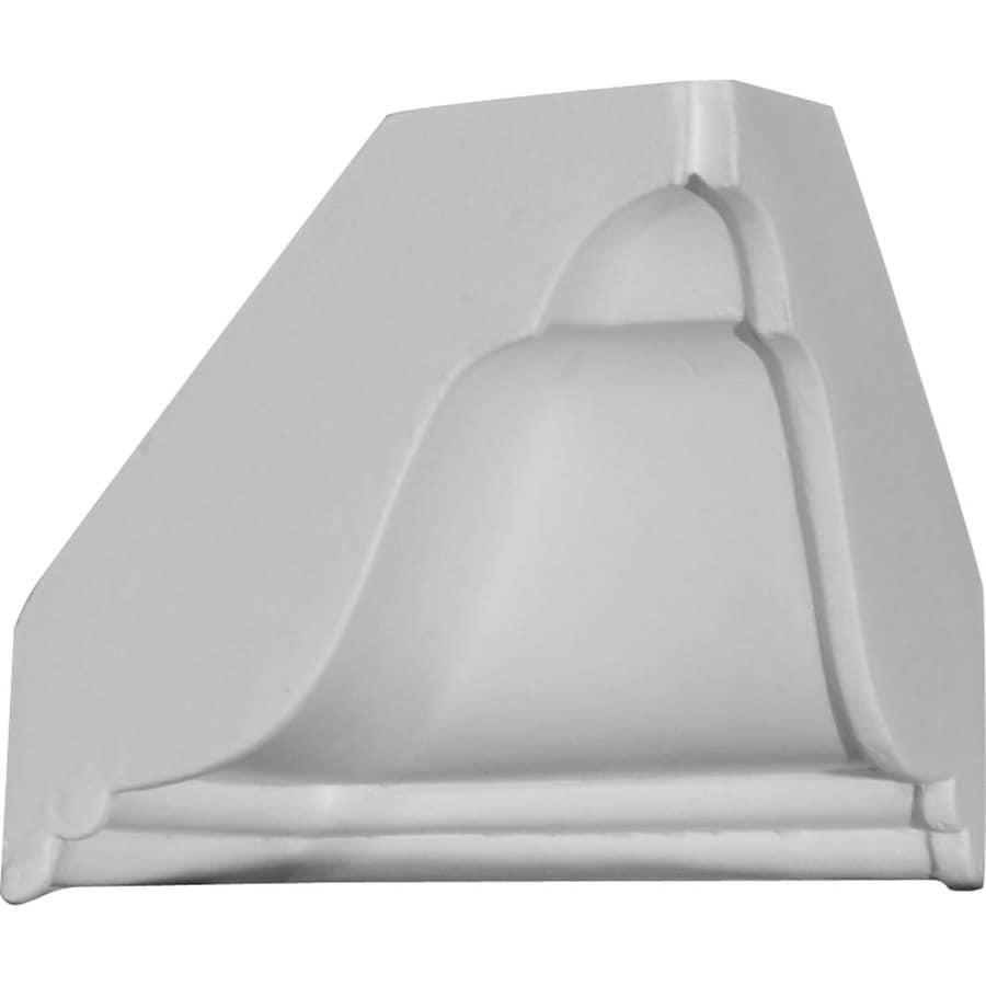 Ekena Millwork 4.875-in x 4.875-in Polyurethane Inside Corner Crown Moulding Block