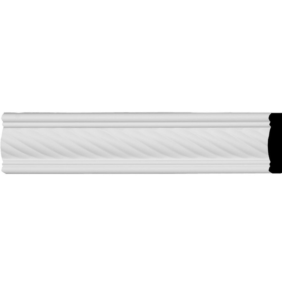 Ekena Millwork Classic Alexandria Rope 2.325-in x 7.88-ft Polyurethane Connector Wall Panel Moulding