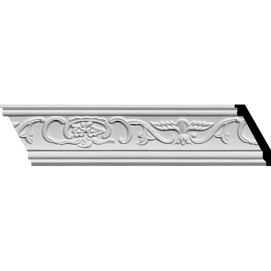 Ekena Millwork 2.75-in x 7.89-ft Polyurethane Piedmont Crown Moulding