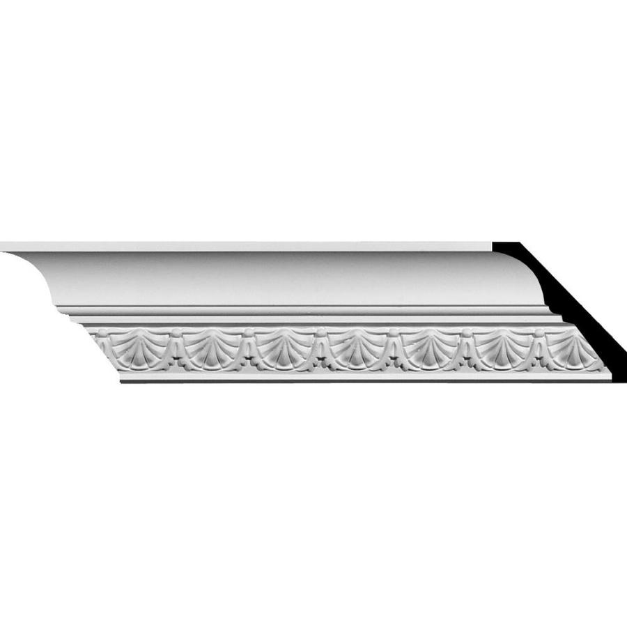 Ekena Millwork 2.875-in x 7.89-ft Polyurethane Shell Crown Moulding