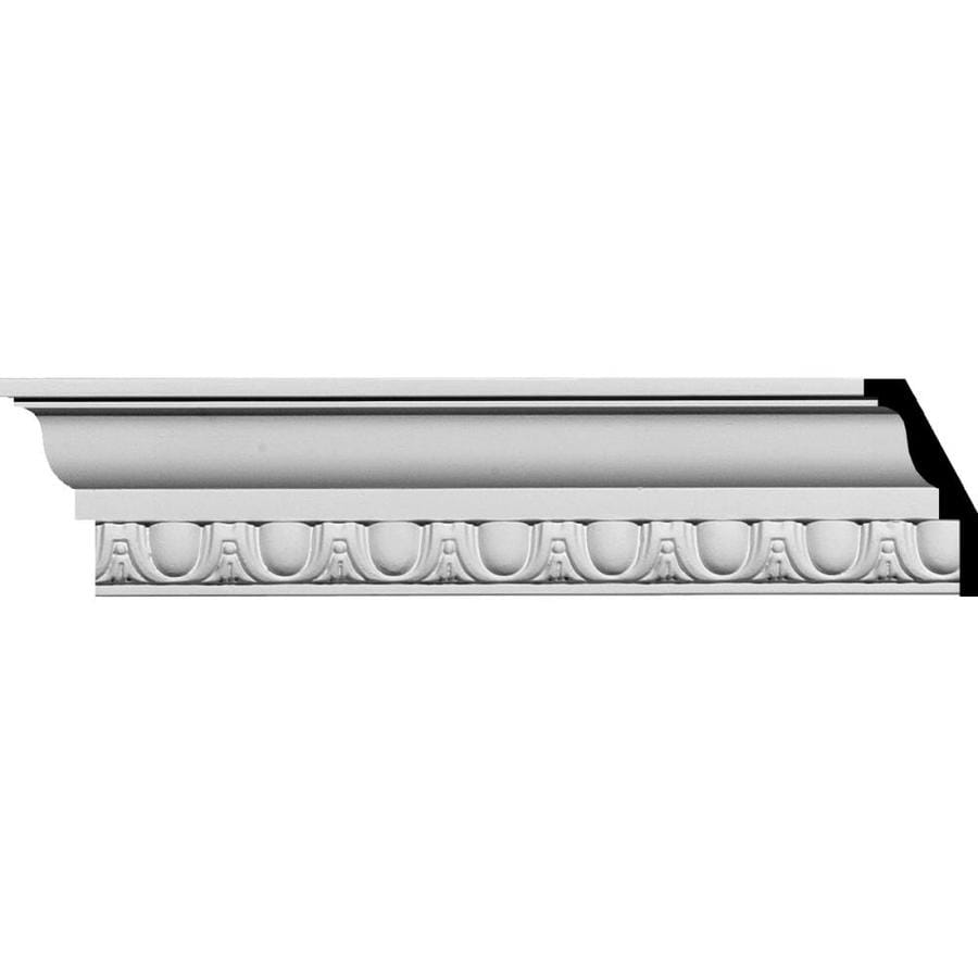 Ekena Millwork 3-in x 7.89-ft Polyurethane Crown Moulding
