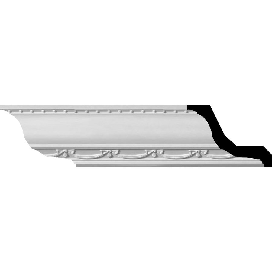 Ekena Millwork 3-in x 7.88-ft Polyurethane Federal Crown Moulding