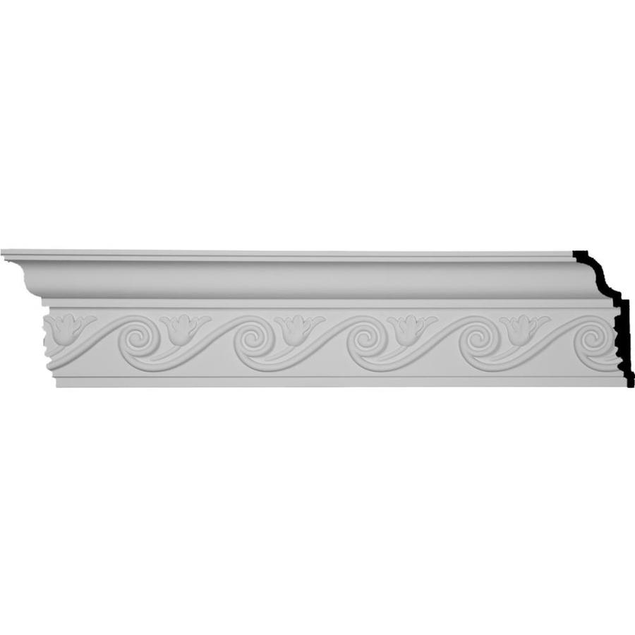 Ekena Millwork 6.25-in x 8-ft Polyurethane Egg and Dart Crown Moulding