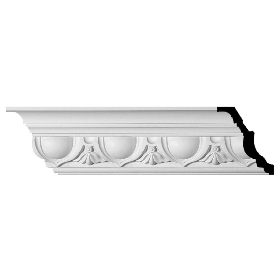 Ekena Millwork 7.375-in x 8-ft Polyurethane Artis Crown Moulding