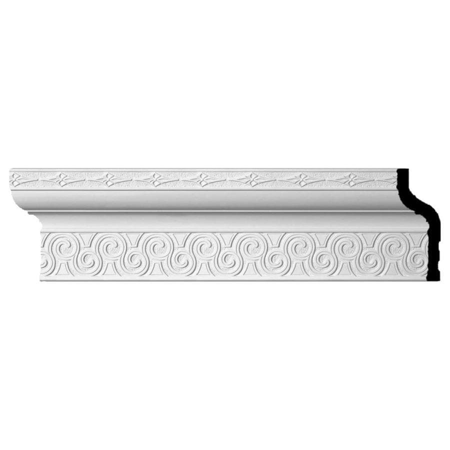 Ekena Millwork 8.375-in x 8-ft Polyurethane Bedford Crown Moulding