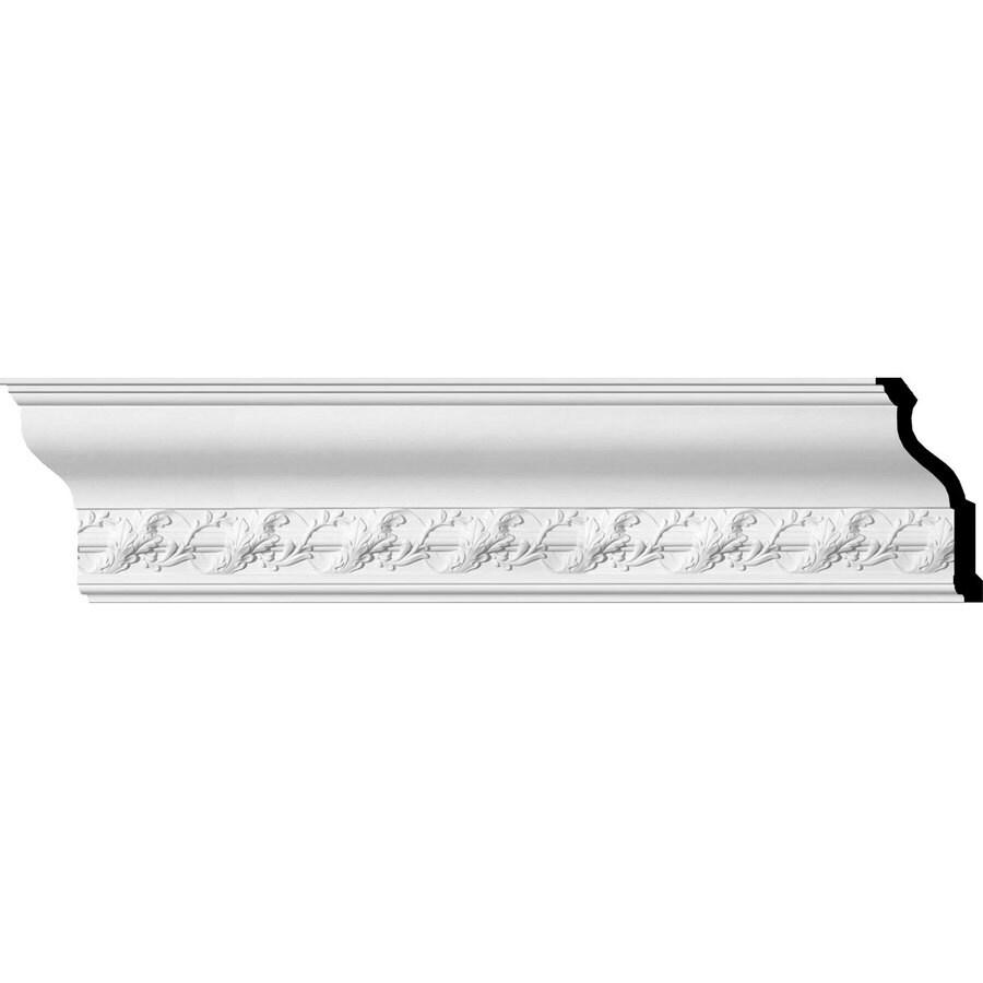 Ekena Millwork 9.125-in x 7.88-ft Primed Polyurethane Crown Moulding