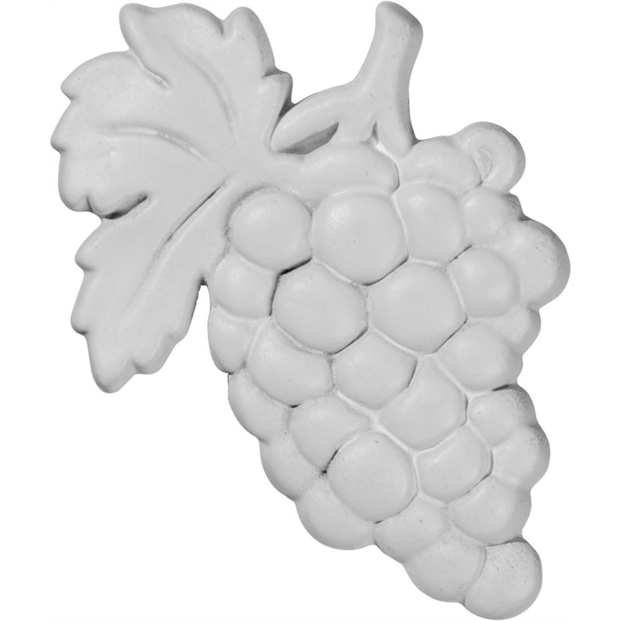 Ekena Millwork 2.75-in x 4.125-in Grape Urethane Applique