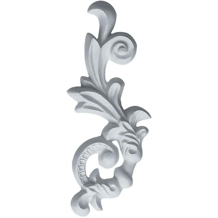 Ekena Millwork 2.5-in x 6.25-in Hillsborough Primed Urethane Applique