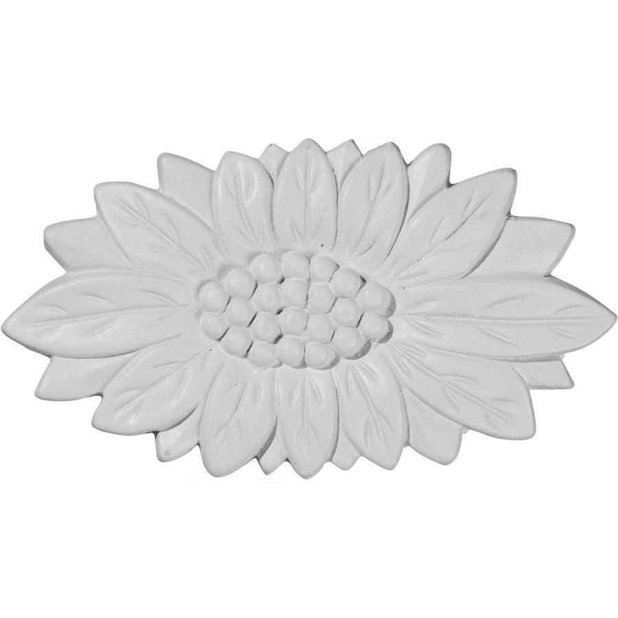 Ekena Millwork 4.5-in x 2.375-in Springtime Primed Urethane Applique