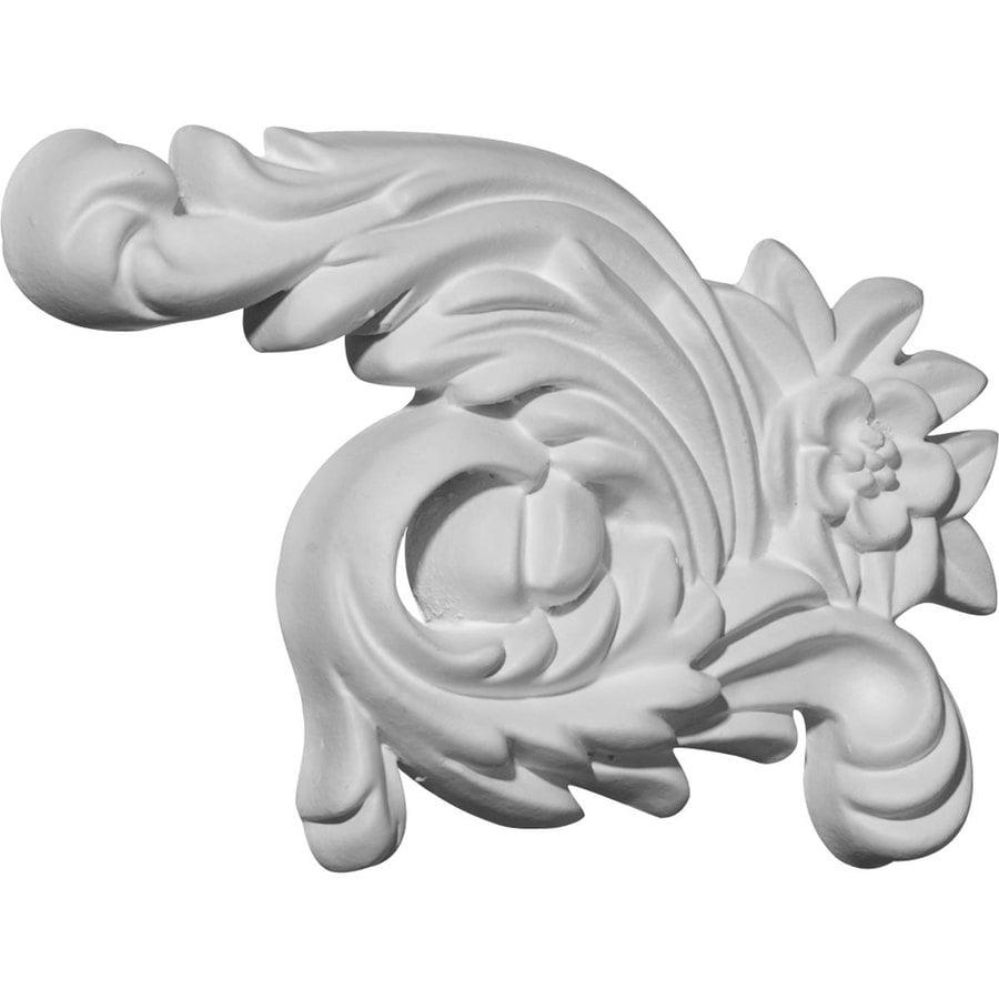 Ekena Millwork 4.25-in x 7-in Zephyr Primed Urethane Applique