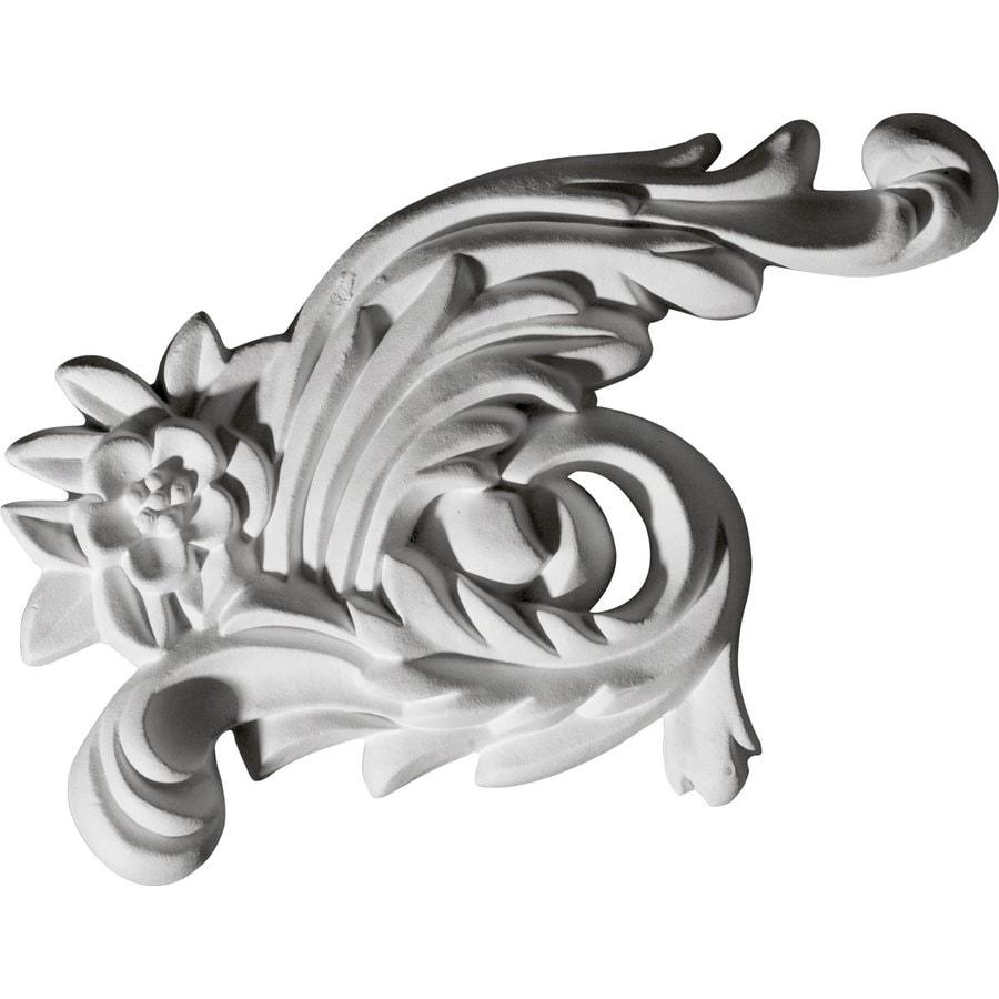 Ekena Millwork 4.25-in x 7-in Zephyr Urethane Applique