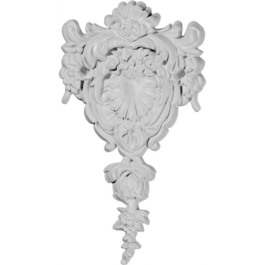 Ekena Millwork 6.75-in x 12.375-in Menton Urethane Applique