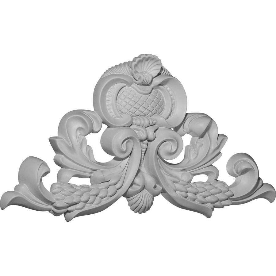 Ekena Millwork 15.25-in x 9.25-in Primed Urethane Applique
