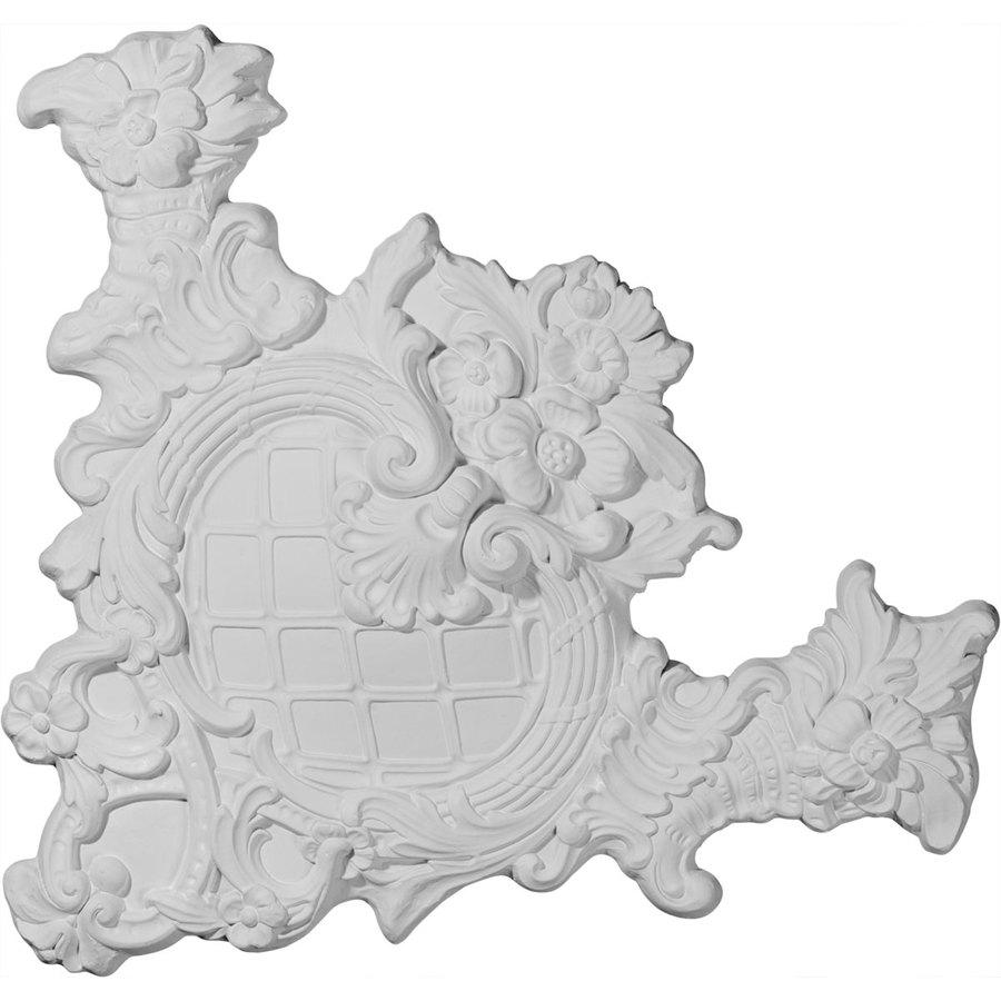 Ekena Millwork 20.5-in x 20.5-in Benson Urethane Applique