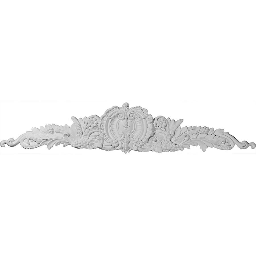 Ekena Millwork 46-in x 9-in Medway Urethane Applique