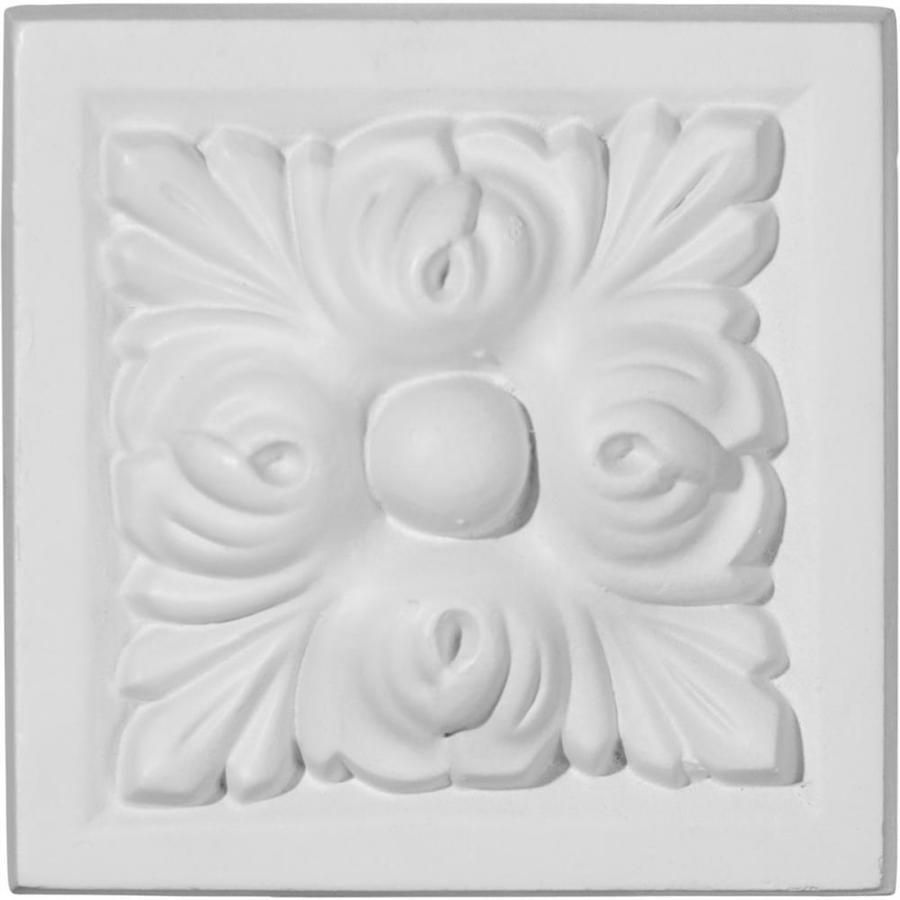 Ekena Millwork Benson 3.875-in x 3.875-in Polyurethane Plinth