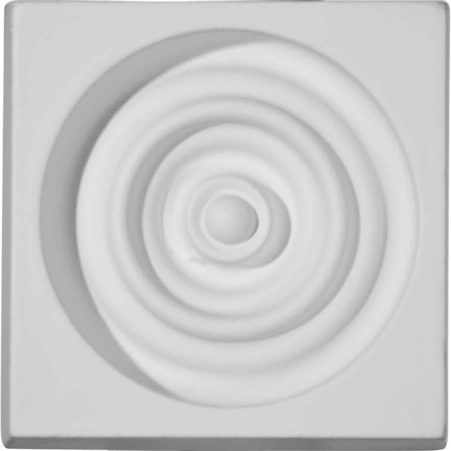 Ekena Millwork Devon 3.25-in x 3.25-in Primed Polyurethane Plinth
