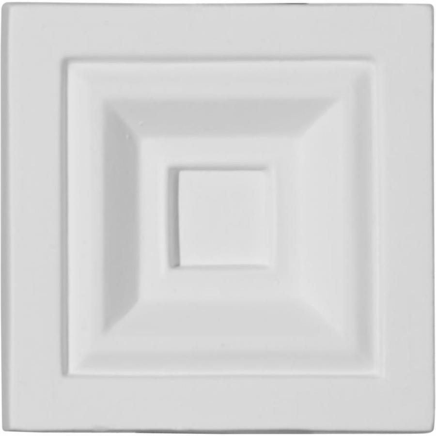 Ekena Millwork Eris 3.75-in x 3.75-in Polyurethane Plinth