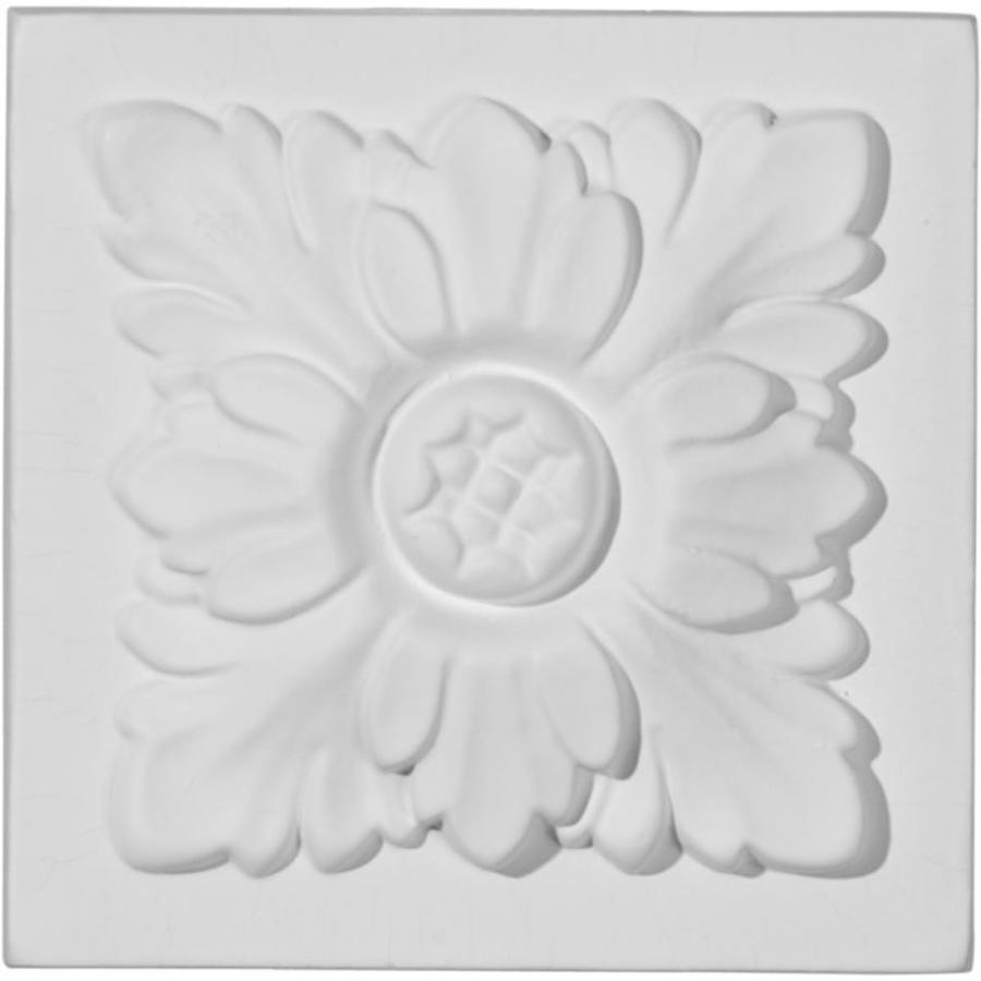 Ekena Millwork Kent 3.75-in x 3.75-in Polyurethane Plinth