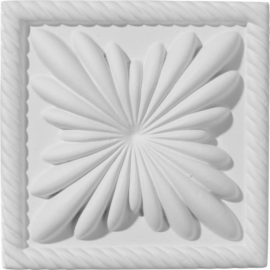 Ekena Millwork Cole 4.375-in x 4.375-in Polyurethane Plinth