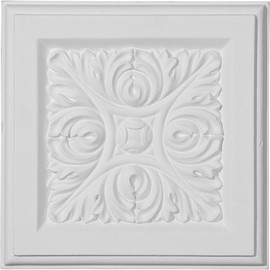 Ekena Millwork Odessa 5.25-in x 5.25-in Primed Polyurethane Plinth