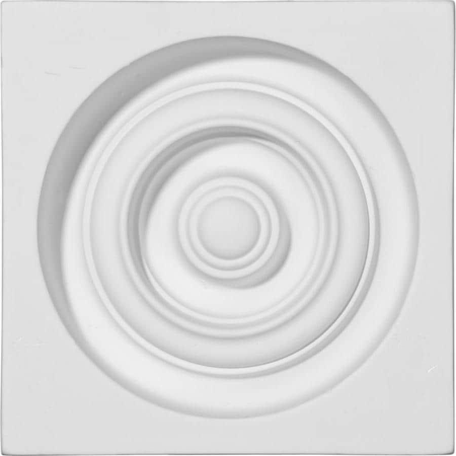 Ekena Millwork Reece 5.375-in x 5.375-in Polyurethane Plinth