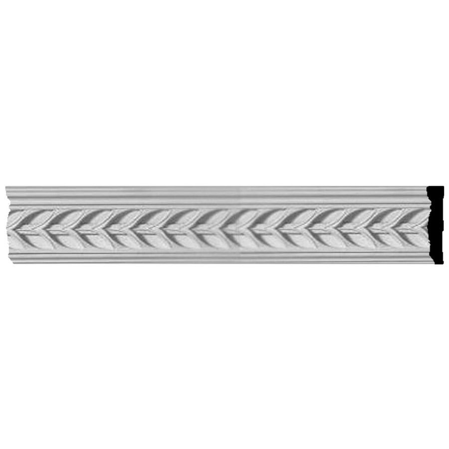 Ekena Millwork Monique 3.125-in x 8-ft Polyurethane Connector Wall Panel Moulding
